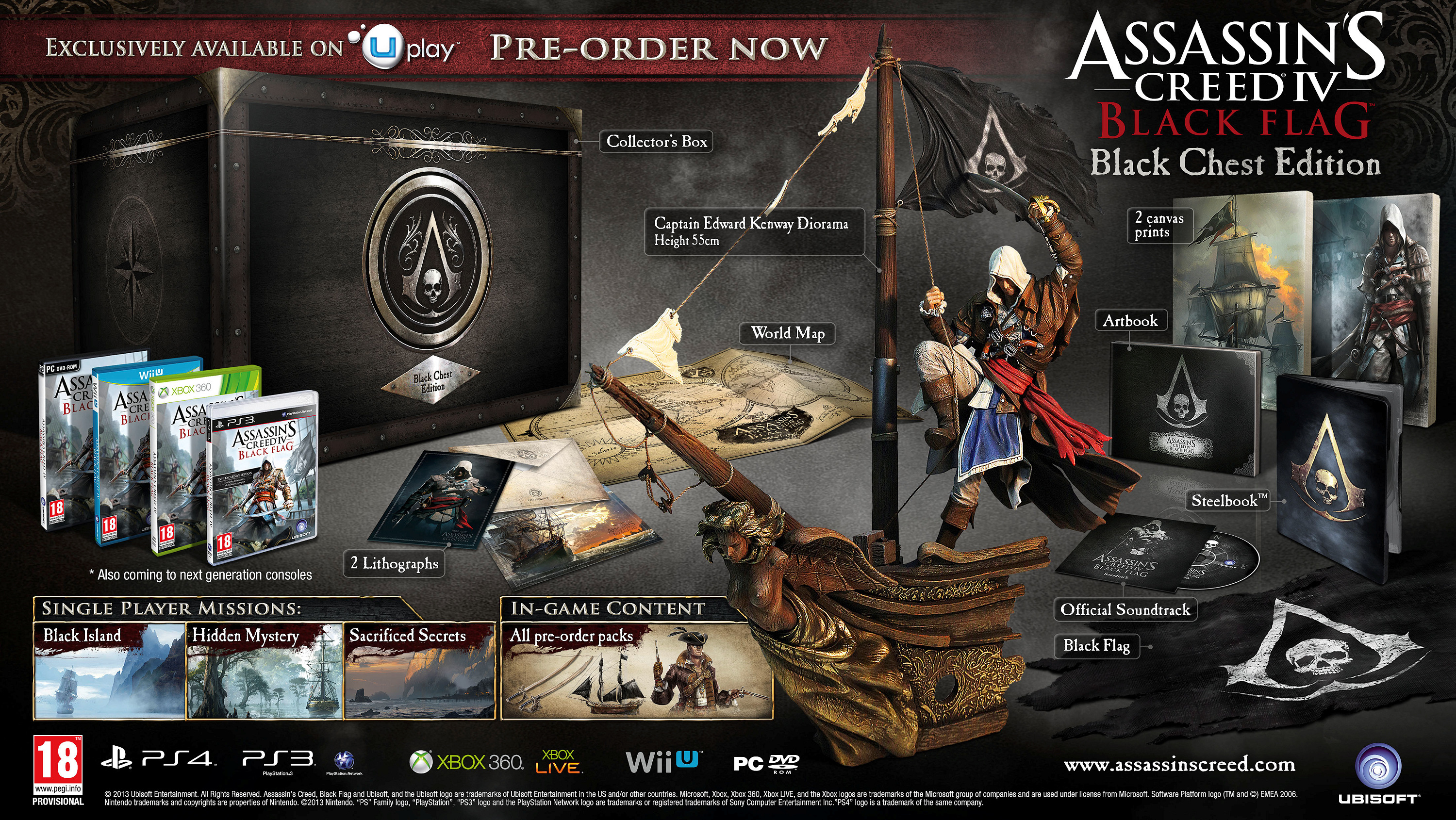 Assassin's Creed 4: Black Flag - The Black Chest Edition ...
