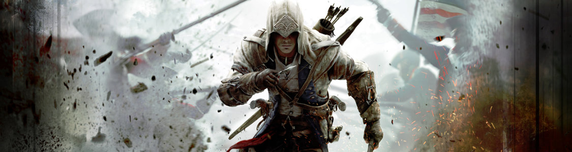 Assassin's Creed 3<br /><span><a href='http://www.assassinscreed.de/3'>Die Amerika-Trilogie nimmt ihren Anfang ...</a></span>