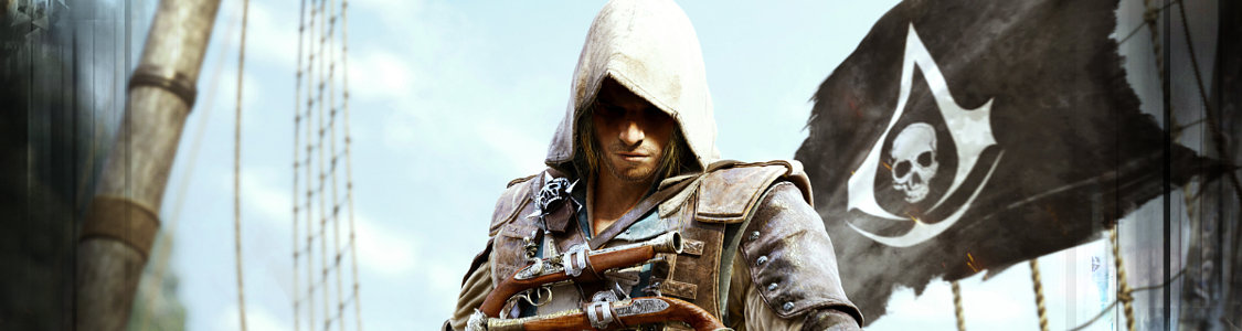 Assassin's Creed 4: Black Flag<br /><span><a href='http://www.assassinscreed.de/4-black-flag'>Das wohl beste Piratenspiel, das es je gab!</a></span>