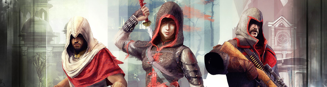 Assassin's Creed Chronicles<br /><span><a href='http://www.assassinscreed.de/ac-chronicles'>3 Assassinen, 3 Abenteuer, 1 Kredo. Jetzt für PS4, Xbox One & PC!</a></span>