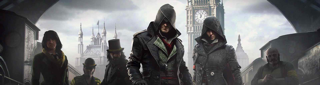 Assassin's Creed Syndicate<br /><span><a href='http://www.assassinscreed.de/ac-syndicate'>Erlebe London zur Zeit der Industriellen Revolution!</a></span>
