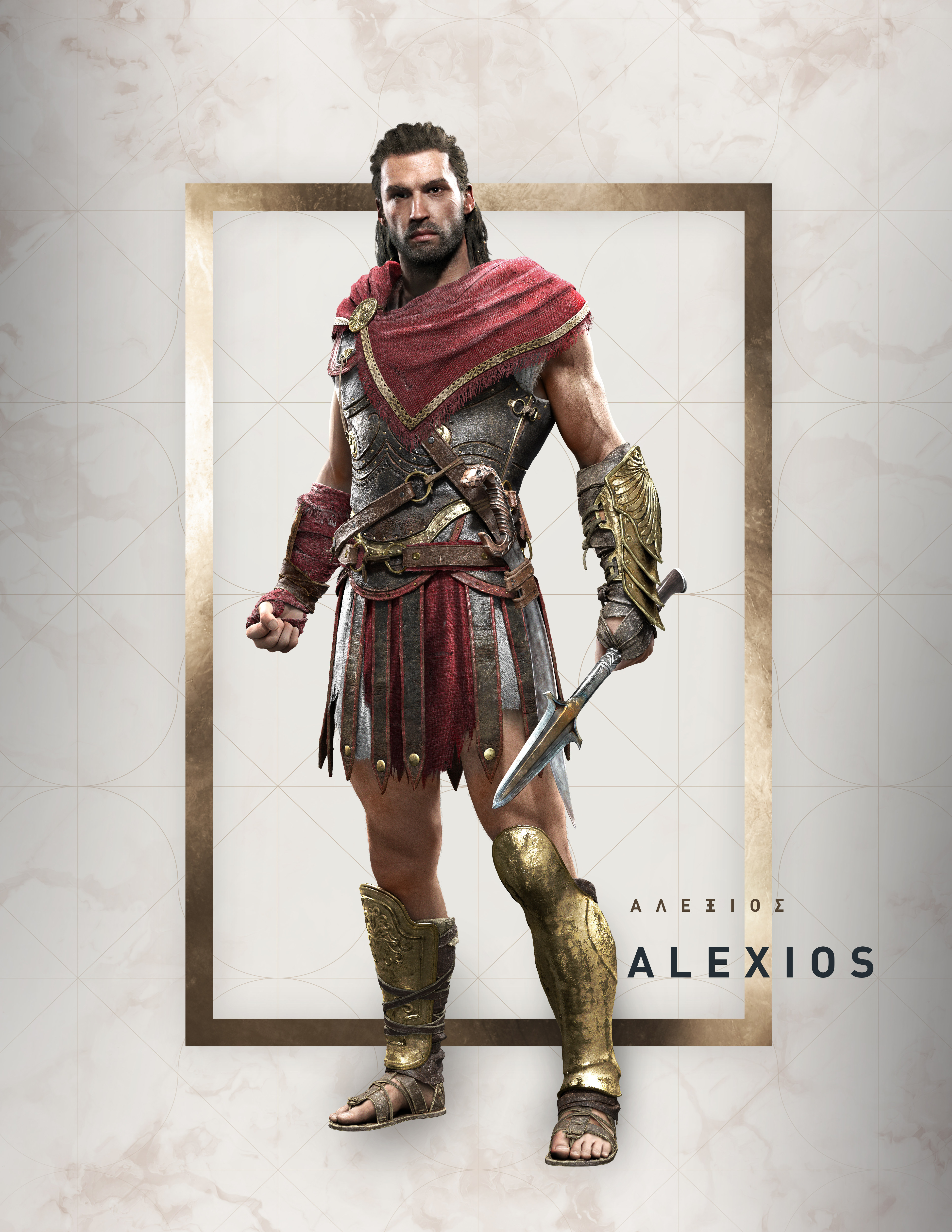 Assassin S Creed Odyssey Charakterbilder Alexios