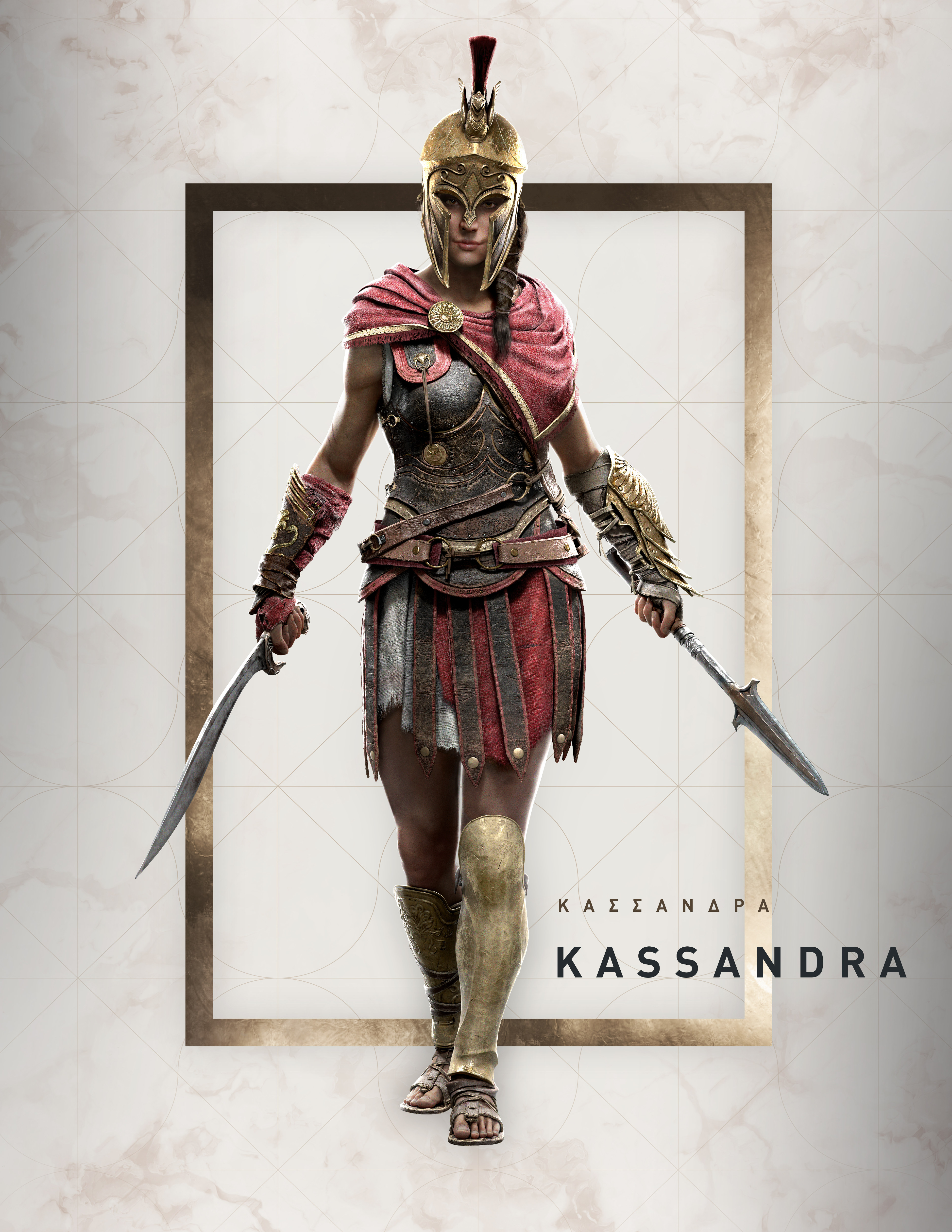 Assassin's Creed Odyssey - Charakterbilder Kassandra