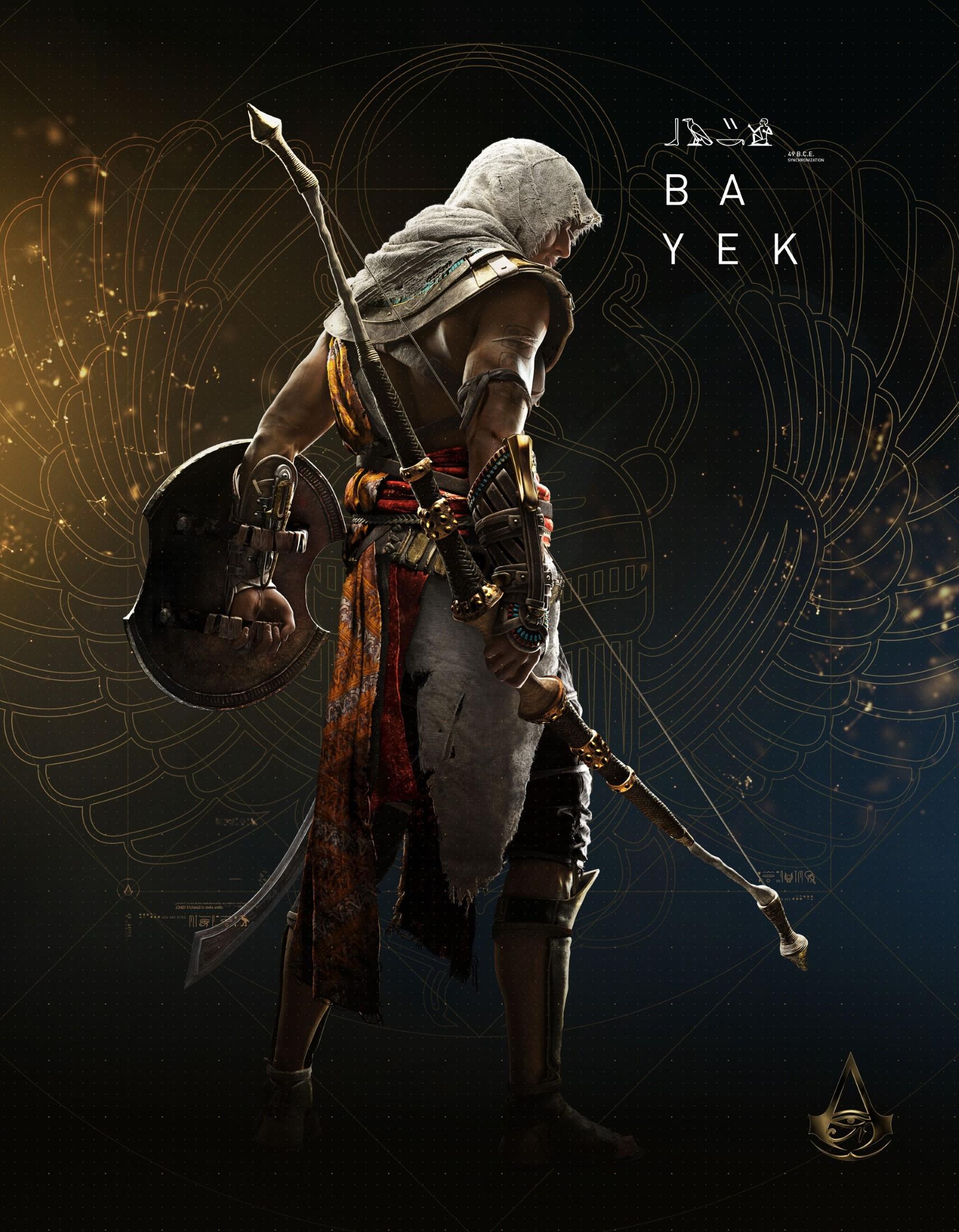 Assassin's Creed Origins - Bilder der Charaktere ...