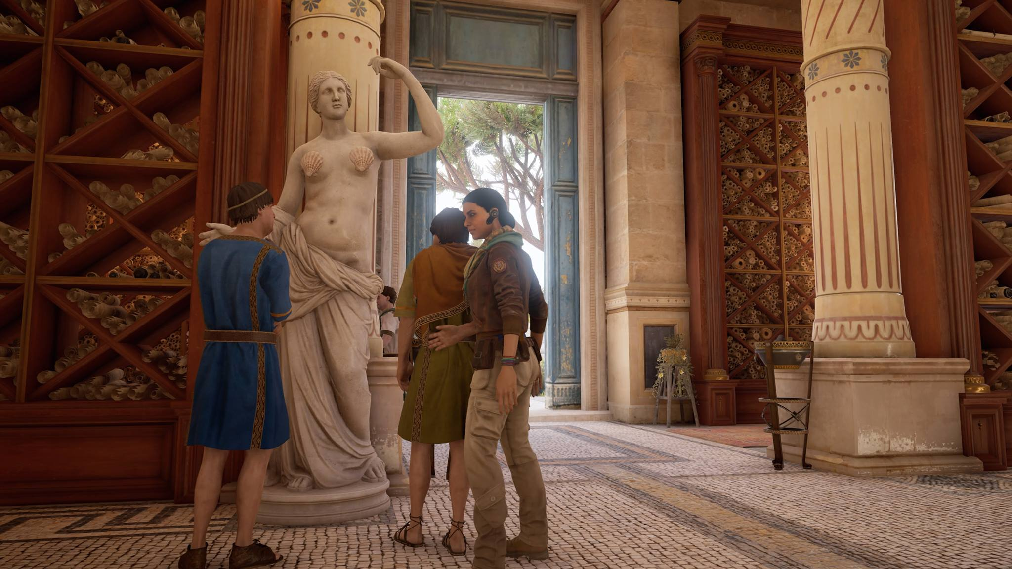 Ubisoft Censors Nude Statues in Assassins Creed: Origins