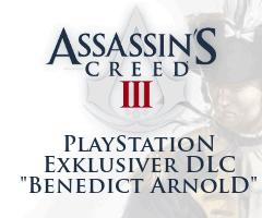 DLC PlayStation exklusiv Benedict Arnold