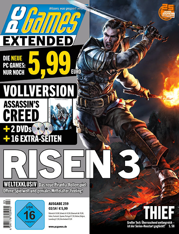 PC Games 3/2014 Cover