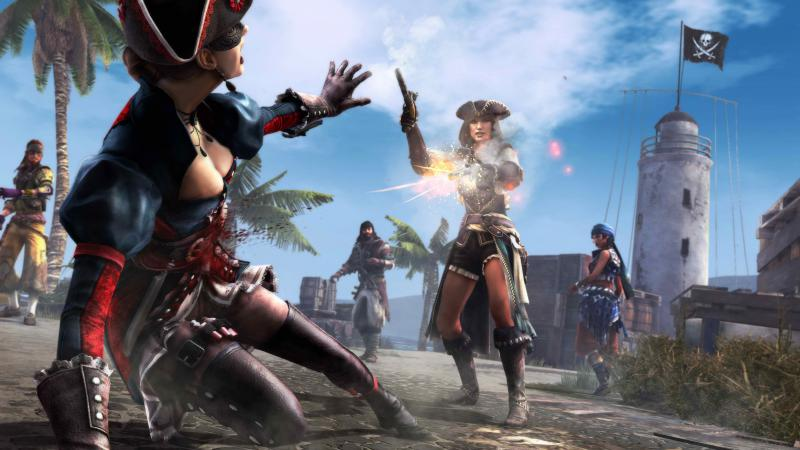 AC4 Multiplayer Event Flying Dutchman. White Assassins
